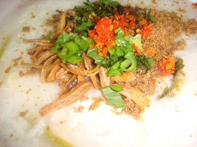 Nasi air(Rice porridge) picture