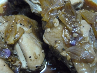 adobong matanda (old-fashioned chicken & pork adobo) picture