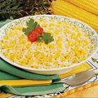roasted corn and garlic rice picture