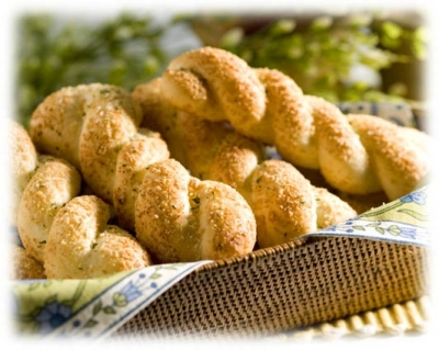 Twisty Buttery Breadsticks picture
