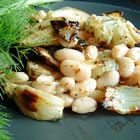 roasted fennel and white bean salad picture