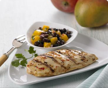 Black Bean and Mango Salsa with Chicken picture