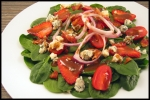Spinach Salad with Strawberry Dressing picture
