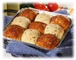 Savory Checkerboard Rolls picture