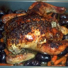roasted lemon herb chicken picture