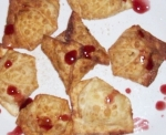 Sweet Cream Cheese Wontons picture