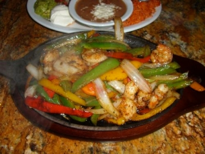 Shrimp Fajitas picture