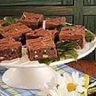 mocha walnut brownies picture