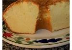 Crusty top sour cream pound cake picture