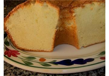 Crusty top sour cream pound cake picture