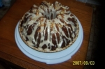 Mountain apple cake picture