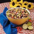 Black bean chicken salad picture