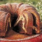 Cherry chocolate marble cake picture