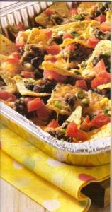Tailgating Taco nachos picture