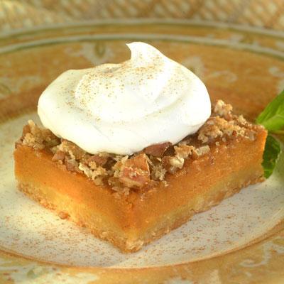 Pumpkin Pecan Pie Squares picture