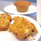 Orange oatmeal muffins picture