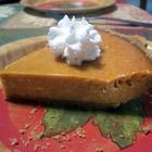 Pumpkin cheese pie picture