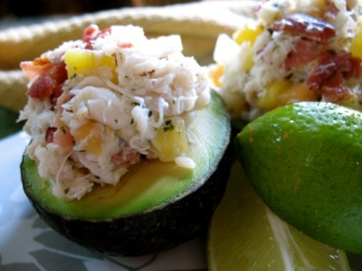 Crab Stuffed Avocado picture