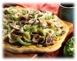 Philly Cheese Steak Pizza picture
