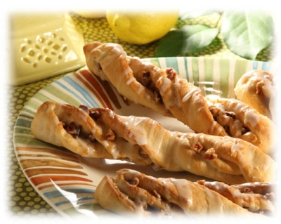 Lemon Pecan Twists picture