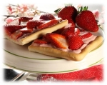 Strawberry Cream Cheese Tart picture