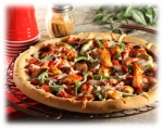 Grilled BBQ Chicken Pizza picture