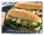Chicken Salad Stuffed Bread Sticks picture