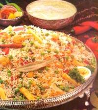 VEGETABLE BIRYANI RECIPE picture