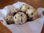 Fresh Blueberries Muffin. picture