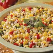 Barley corn salad picture