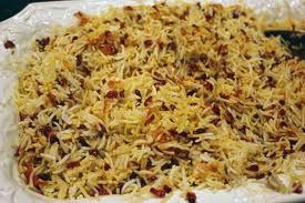 Zereshk polo( Basmati Rice With Bar berry) picture