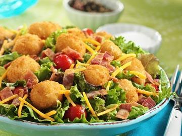 Popcorn Fish BLT Salad picture