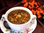 Lentil Barley Soup. picture
