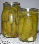 kosher dill pickel picture