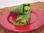 Guacamole Wraps with Spicy Pistachio Crunch picture