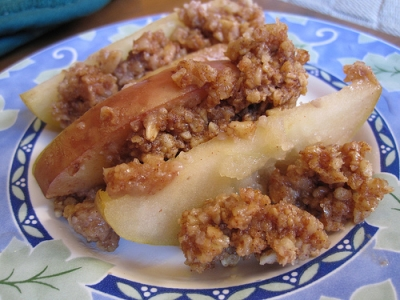 Baked Apple Crumble picture