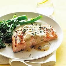 Pan fried Salmon picture