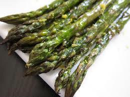 Asparagus with White Wine sauce picture