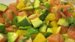 Citrus Avocado Salad Foods That Lower Cholesterol picture