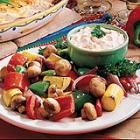 Roasted Vegetables with Dip picture