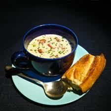 Absolute lobster chowder.., picture