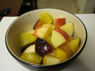 Fall Fruit Salad reduces cholesterol plaque picture