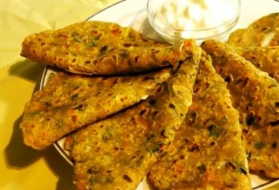 Indian Mixed Veg Paratha Recipe picture