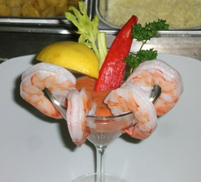 Shrimp cocktail -INTER CONTINENTAL DAR AL TAWHID -By Chef Montaser picture