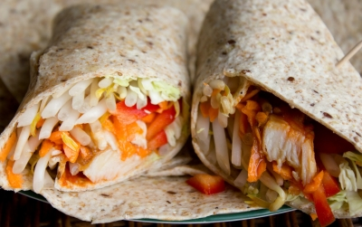 Chicken Teriyaki wraps  picture