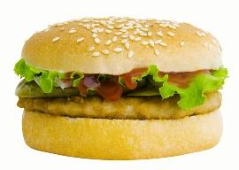 fish burger  picture