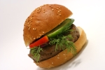 vegetable burger  picture
