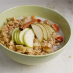 Apple & Pear Oatmeal (A tasty recipe packed with good-for-you foods) picture