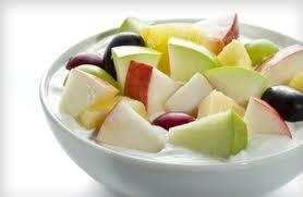 Breakfast Fruit Cup-Lowfat yogurt dresses up this tasty fruit cup. picture