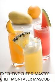 Tropical Eye Opener A refreshing mixture of fruit, juice, and frozen y picture